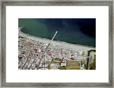 Seaside, Gioia Tauro Framed Print by Blom ASA