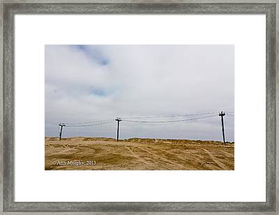 Framed Print featuring the photograph Seaside Heights by Ann Murphy