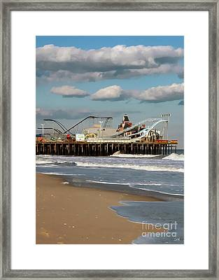 Seaside Heights Roller Coaster 2 Framed Print