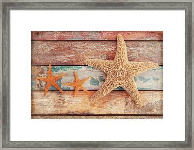 Seaside Memories Framed Print by Cora Niele