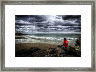 Seaside Music Framed Print by Svetlana Sewell