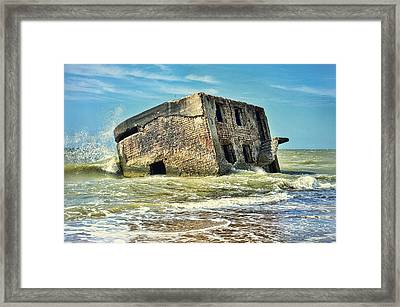 Seaside Northern Forts Framed Print by Gynt