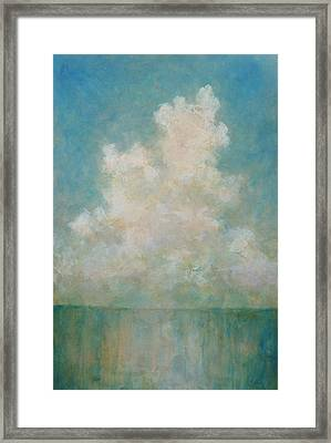 Seaside Framed Print by Pam Talley