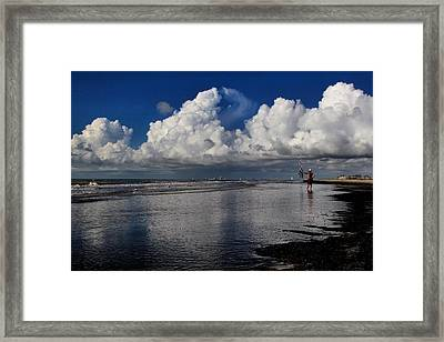 Seaside Reflections Framed Print