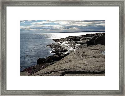 Seasider Framed Print by Mim White