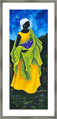 Season Cayemite Framed Print by Patricia Brintle