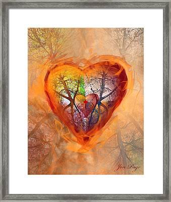 Season Of The Heart Framed Print