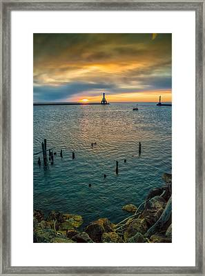 Season Opener Framed Print