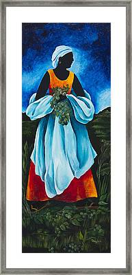 Season Quenepe Framed Print