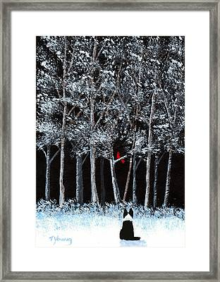 Season Wish Framed Print by Todd Young