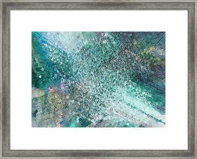 Seasoned Graffiti Artist Abstract Painting Framed Print by Georgiana Romanovna