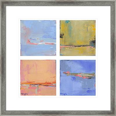 Seasons 2012 Framed Print by Jacquie Gouveia