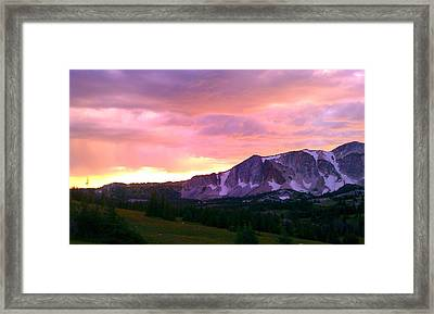 Framed Print featuring the photograph Seasons Change by Chris Tarpening