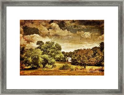 Seasons Change Framed Print by Lois Bryan