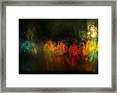 Seasons Fireballs Framed Print by Peter Thoeny