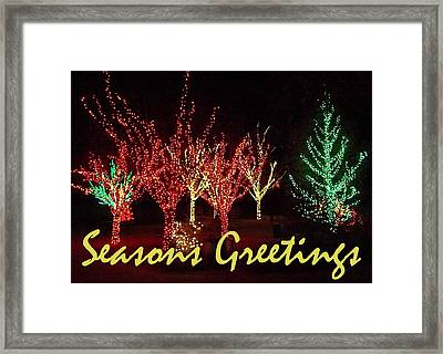 Seasons Greetings Framed Print by Darren Robinson