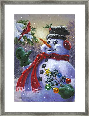 Seasons Greetings Framed Print
