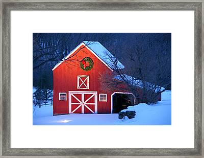 Seasons Greetings Framed Print by Thomas Schoeller