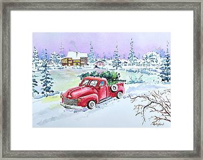Winter Season Framed Print