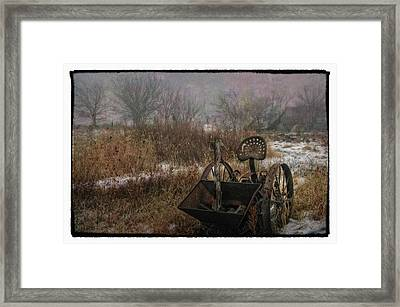 Season's Over Framed Print