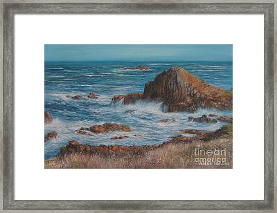 Seaspray Framed Print