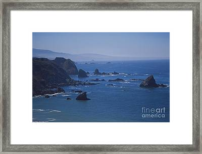 Seastacks Framed Print by Chris Selby