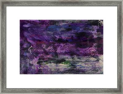 Seastorm I Framed Print
