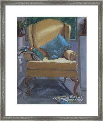 Seat Of Knowledge Framed Print