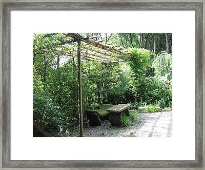 Seat Of Nature Framed Print