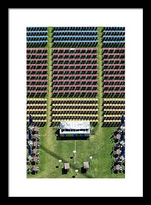 Lawn Chair Framed Prints