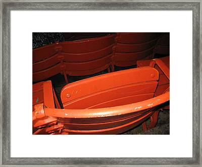 Seats - Nationals Park - 01132 Framed Print by DC Photographer