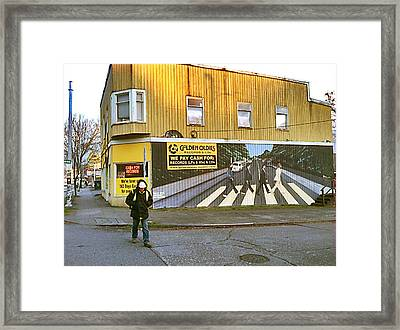 Seattle 2014. Framed Print by Frank Winters