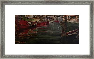Seattle Boat Show Framed Print