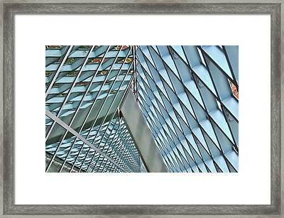 Seattle Library Reading Room 3 Framed Print