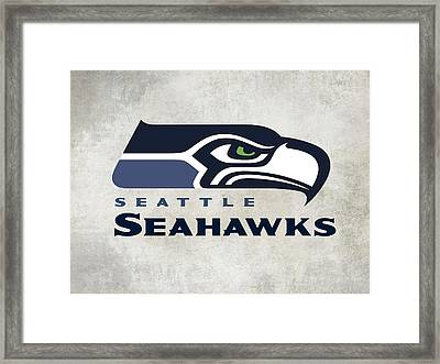 Seattle Seahawks Fan Panel Framed Print
