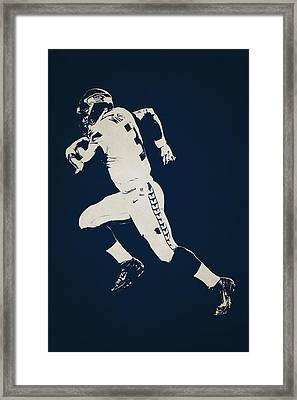 Seattle Seahawks Shadow Player Framed Print