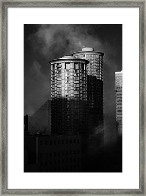 Seattle Towers Framed Print