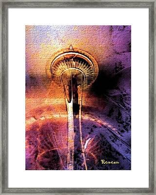 Seattle Wa Space Needle Framed Print