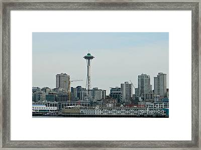 Seattle Washington Framed Print by Chalet Roome-Rigdon