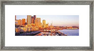 Seattle Washington Usa Framed Print by Panoramic Images