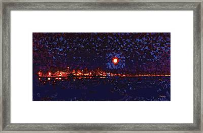Seattle Waterfront, No. 1 Framed Print by James Kramer