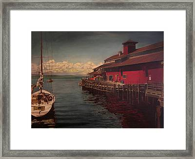 Seattle Waterfront Framed Print