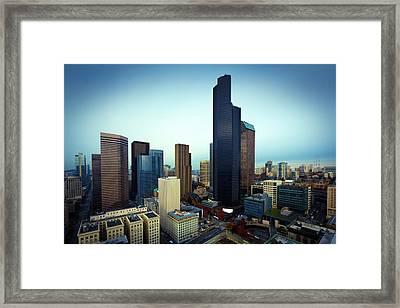 Seattle Framed Print by Wladimir Bulgar