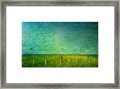 Seaview Framed Print by Barbara Socor
