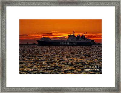 Seaways Framed Print