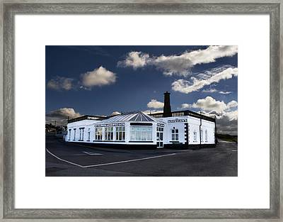 Seaweed Bath Framed Print by Tony Reddington