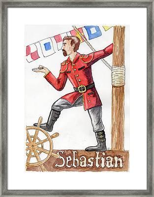 Sebastian Framed Print