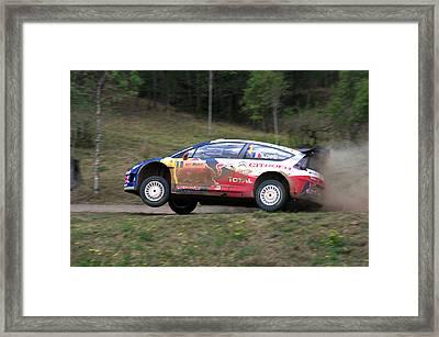 Sebastien Loeb - Repco Rally Australia Framed Print