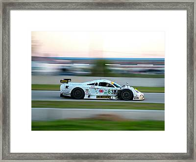 Sebring S7 Framed Print by Zachary Cox