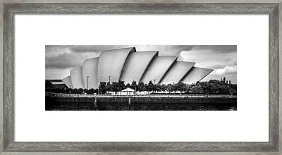 Secc Glasgow Framed Print